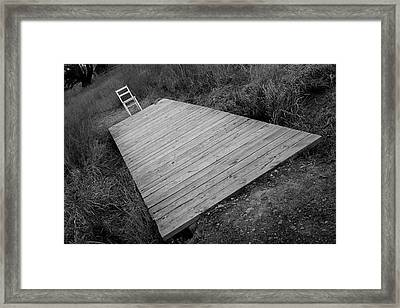 Bridge / The Chair Project Framed Print