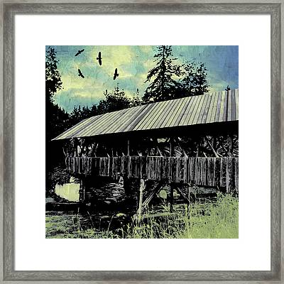 Bridge V Framed Print