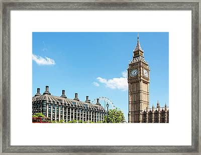 British Government Framed Print by Chris Mansfield