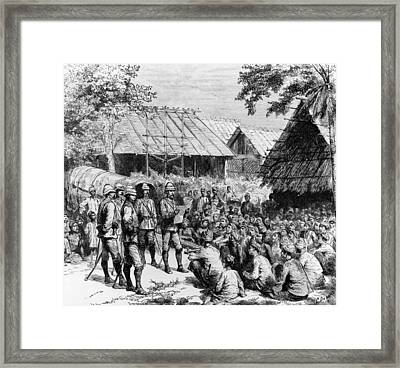 British Proclamation Framed Print by Hulton Archive