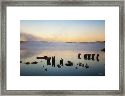 Framed Print featuring the photograph Broad Cove Iv Color by David Gordon