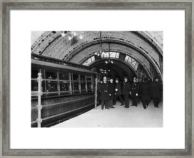 Broadway Local Framed Print by Hulton Archive