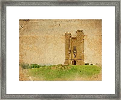 Broadway Tower Framed Print