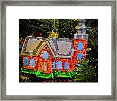 Bruton Parish Church Framed Print