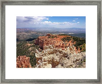 Bryce Canyon High Desert Framed Print
