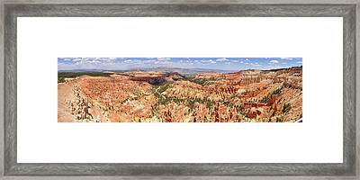Framed Print featuring the photograph Bryce Canyon Hoodoos by Mark Duehmig