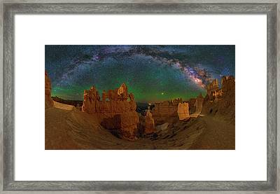 Bryce Panorama Framed Print