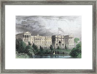 Buckingham Palace Framed Print by Hulton Archive