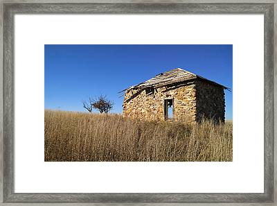 Framed Print featuring the photograph Built To Last by Carl Young