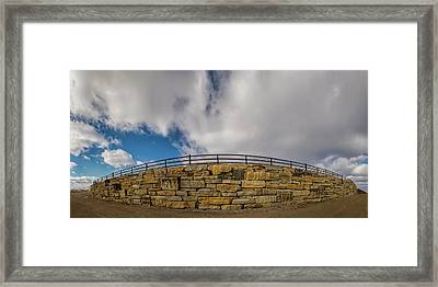 Framed Print featuring the photograph Built To Last by Scott Bean