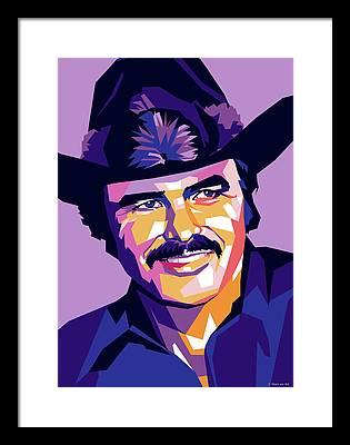 Burt Reynolds Framed Prints