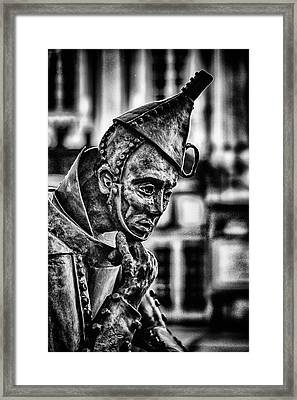 Bw Tinman Framed Print