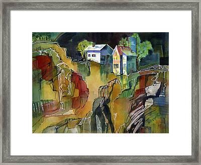 Cabin Life Framed Print
