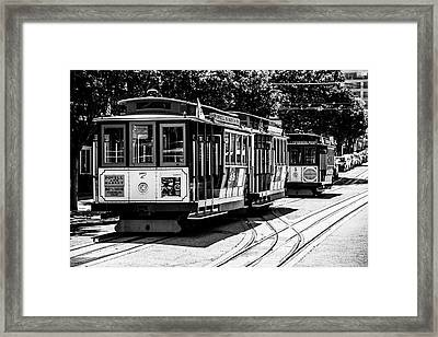 Cable Cars Framed Print
