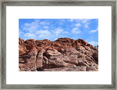 Calico Hills Framed Print