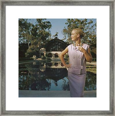 California Fashion Framed Print by Slim Aarons