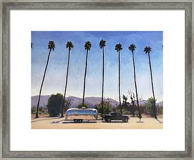 California Honeymoon Framed Print