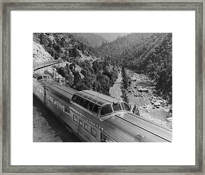 California Zephyr Framed Print by Pictorial Parade