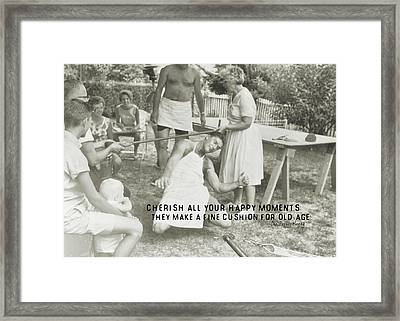 Calypso Quote Framed Print by JAMART Photography
