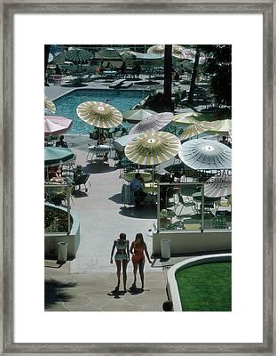 Camelback Inn Framed Print