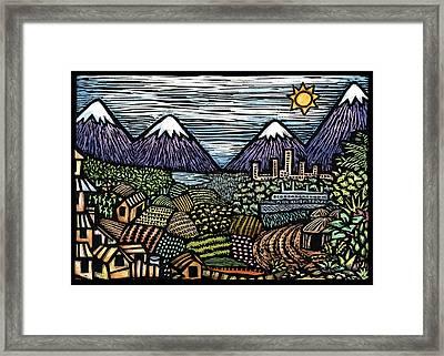 Campo Framed Print by Ricardo Levins Morales