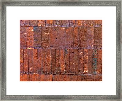 Can Wall 2 Framed Print by Leland D Howard