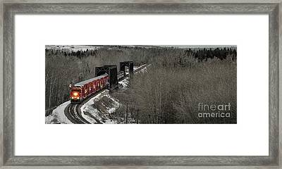 Canadian Pacific Holiday Train 2018 I Framed Print