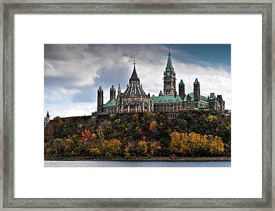 Canadian Parliament Buildings Framed Print