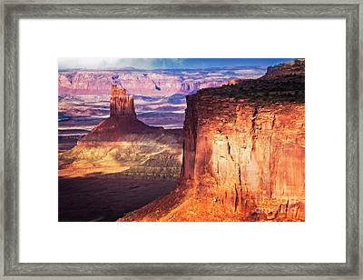 Framed Print featuring the photograph Candlestick Tower by Scott Kemper