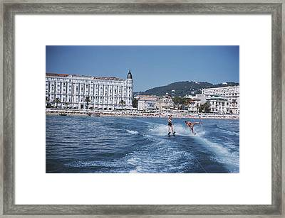 Cannes Watersports Framed Print