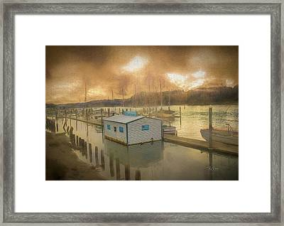 Framed Print featuring the photograph Canvas Port by Bill Posner
