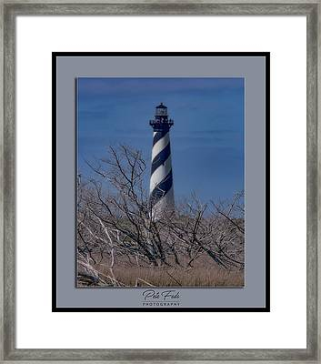 Framed Print featuring the photograph Cape Hatteras Lighthouse by Pete Federico