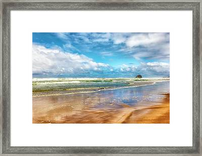 Cape Kiwanda Beach Framed Print