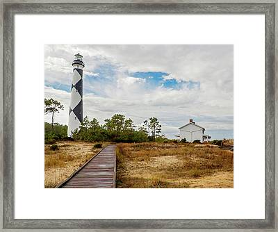 Cape Lookout Lighthouse No. 2 Framed Print