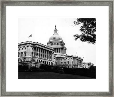 Capitol Building Framed Print
