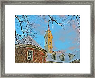 Capitol Chill Framed Print