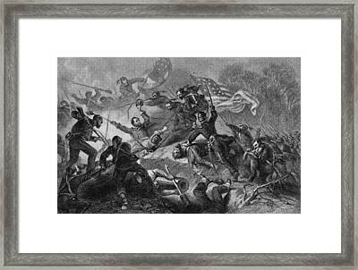 Capture Of Roanoke Framed Print by Kean Collection