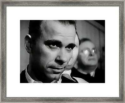 Captured Dillinger 1933 Framed Print