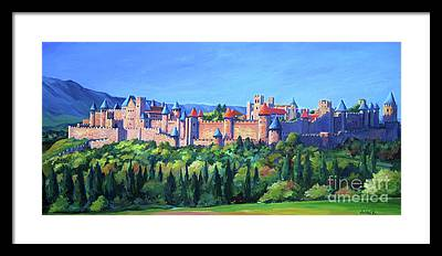 Campagne Paintings Framed Prints