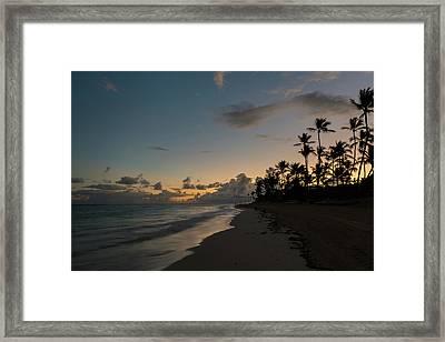 Caribbean Rise Framed Print