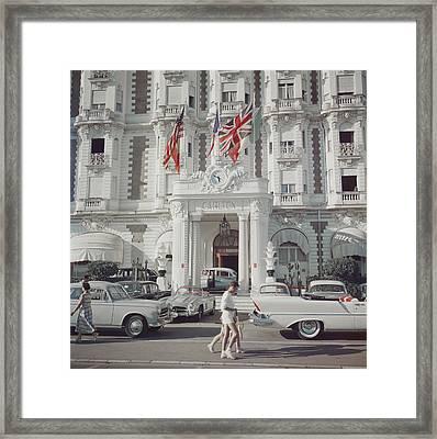 Carlton Hotel Framed Print