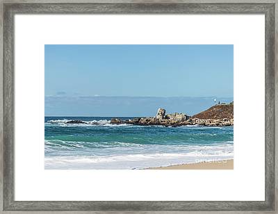 Carmel-by-the-sea Framed Print