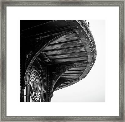 Carousel House Detail Framed Print
