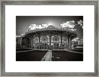 Carousel House Framed Print