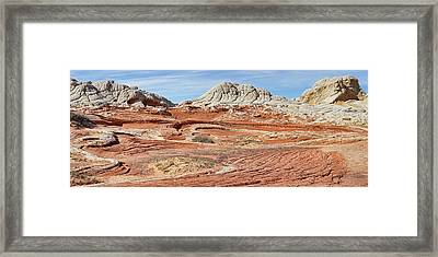 Carved In Stone Pano 2 Framed Print