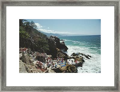 Casa Las Estacas Framed Print