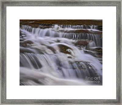 Framed Print featuring the photograph Cascade 5 by Patrick M Lynch