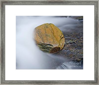 Framed Print featuring the photograph Cascade 6 by Patrick M Lynch