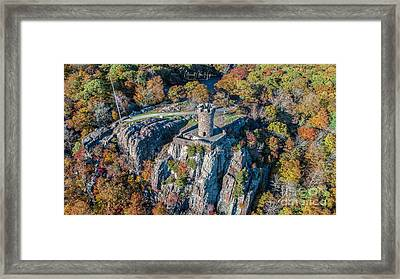 Framed Print featuring the photograph Castle Craig by Michael Hughes