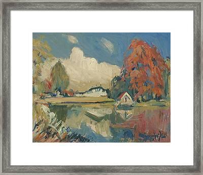 Castle Vliek Framed Print
